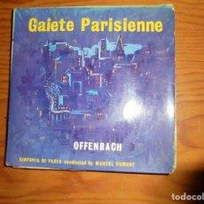Discos de vinilo: OFFENBACH. GAIETÉ PARISIENNE. CONDUCTED BY MARCEL DUMONT. SUMMIT, 1962. EDIC. INGLESA. . Lote 133618070