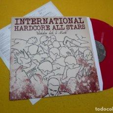Discos de vinilo: INTERNATIONAL HARDCORE ALL STARS–VERDADERO HASTA LA MUERTE (M-/EX+) VINILO LP Ç. Lote 133619262