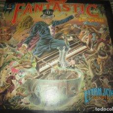 Discos de vinilo: ELTON JOHN - CAPTAIN FANTASTIC LP - ORIGINAL U.S.A. - MCA RECORDS 1975 GATEFOLD COVER -. Lote 133622558