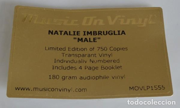 Discos de vinilo: Natalie Imbruglia * 180g audiophile vinyl pressing Transparente *Ltd Numerado 750 copias * Gatefold - Foto 24 - 133629810