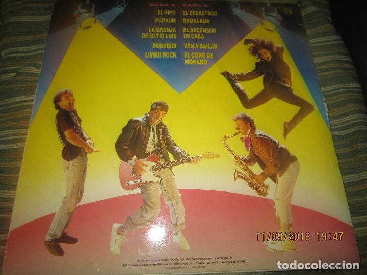 Discos de vinilo: MONANO Y SU BANDA - ROCK N ROLL LP - ORIGINAL ESPAÑOL - EMI RECORDS 1987 CON ENCARTE (LETRAS) - Foto 2 - 133630650