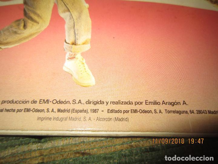Discos de vinilo: MONANO Y SU BANDA - ROCK N ROLL LP - ORIGINAL ESPAÑOL - EMI RECORDS 1987 CON ENCARTE (LETRAS) - Foto 3 - 133630650