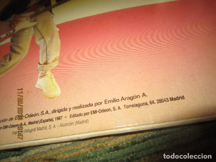 Discos de vinilo: MONANO Y SU BANDA - ROCK N ROLL LP - ORIGINAL ESPAÑOL - EMI RECORDS 1987 CON ENCARTE (LETRAS) - Foto 4 - 133630650
