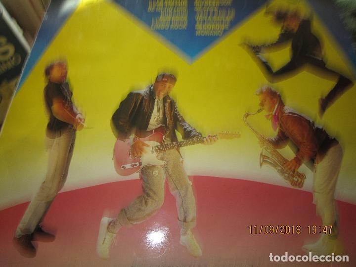 Discos de vinilo: MONANO Y SU BANDA - ROCK N ROLL LP - ORIGINAL ESPAÑOL - EMI RECORDS 1987 CON ENCARTE (LETRAS) - Foto 7 - 133630650