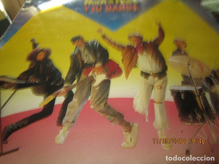 Discos de vinilo: MONANO Y SU BANDA - ROCK N ROLL LP - ORIGINAL ESPAÑOL - EMI RECORDS 1987 CON ENCARTE (LETRAS) - Foto 8 - 133630650