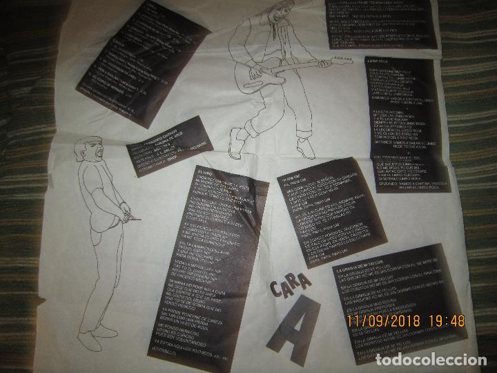 Discos de vinilo: MONANO Y SU BANDA - ROCK N ROLL LP - ORIGINAL ESPAÑOL - EMI RECORDS 1987 CON ENCARTE (LETRAS) - Foto 9 - 133630650