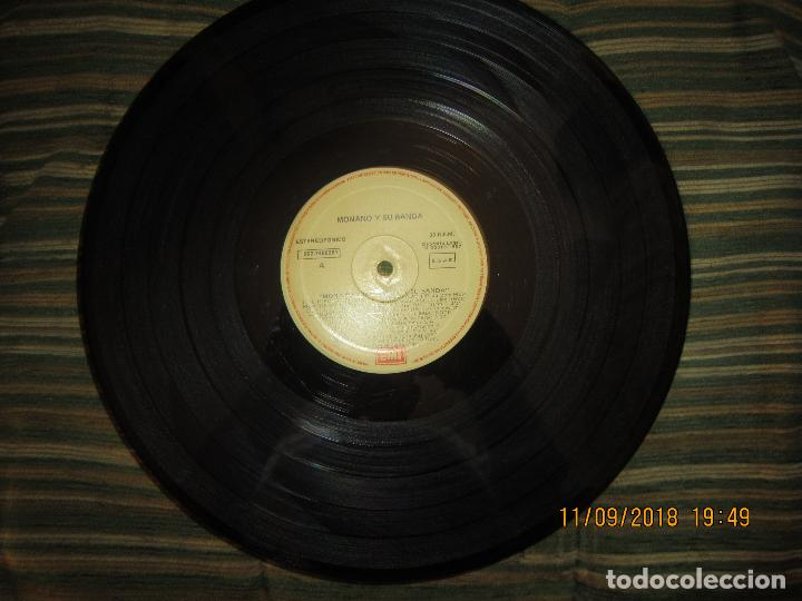 Discos de vinilo: MONANO Y SU BANDA - ROCK N ROLL LP - ORIGINAL ESPAÑOL - EMI RECORDS 1987 CON ENCARTE (LETRAS) - Foto 11 - 133630650