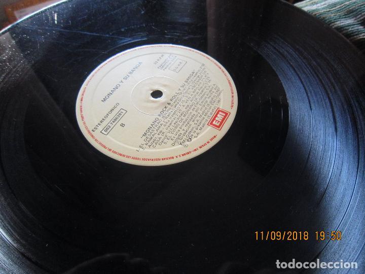 Discos de vinilo: MONANO Y SU BANDA - ROCK N ROLL LP - ORIGINAL ESPAÑOL - EMI RECORDS 1987 CON ENCARTE (LETRAS) - Foto 18 - 133630650