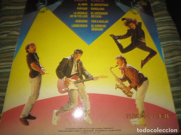 Discos de vinilo: MONANO Y SU BANDA - ROCK N ROLL LP - ORIGINAL ESPAÑOL - EMI RECORDS 1987 CON ENCARTE (LETRAS) - Foto 19 - 133630650