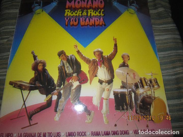 Discos de vinilo: MONANO Y SU BANDA - ROCK N ROLL LP - ORIGINAL ESPAÑOL - EMI RECORDS 1987 CON ENCARTE (LETRAS) - Foto 20 - 133630650