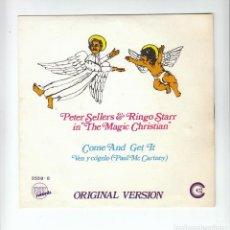 Discos de vinilo: THE BEATLES:RINGO STARR: CON PETER SELLERS-BANDA SONORA- PROMO EDICION NO VENDIBLE-MINT!!. Lote 133647202