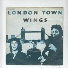 Discos de vinilo: THE BEATLES: WINGS- SINGLE DE 1978- SPAIN- MUY NUEVO!!-RARO DE VER!!. Lote 133647578