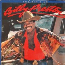 Discos de vinilo: BILLY PRESTON-THE WAY IAM. Lote 133651339
