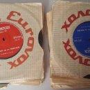 Discos de vinilo: ANTIGUOS CURSOS DE INGLES Y FRANCES AÑOS 60 EUROVOX. Lote 133653678