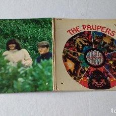 Discos de vinilo: SEGUNDO ALBUM DE LA BANDA NORTEAMERICANA DE ROCK PSICODELICO, THE PAUPERS . Lote 133656138