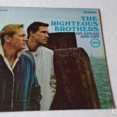 Discos de vinilo: ALBUM DEL DUO DE RHYTHM & BLUES NORTEAMERICANO THE RIGHTEOUS BROTHERS. Lote 133657106