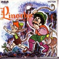 Discos de vinilo: PINOCHO SINGLE RCA 1967 - CUENTO EVANGELINA SALAZAR. Lote 133658250