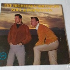 Discos de vinilo: ALBUM DEL DUO DE RHYTHM & BLUES NORTEAMERICANO THE RIGHTEOUS BROTHERS . Lote 133660018