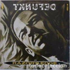 Discos de vinilo: DEFUNKT - RAZOR'S EDGE / STRANGLING ME WITH YOUR LOVE (12) LABEL:HANNIBAL RECORDS, HANNIBAL RECORD. Lote 133661006