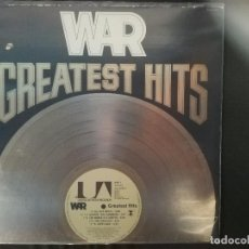 Discos de vinilo: WAR-GREATEST HITS. Lote 133663774