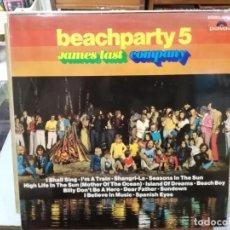 Discos de vinilo: JAMES LAST COMPANY - BEACHPARTY 5 - LP. DEL SELLO POLYDOR DE 1974. Lote 133665586