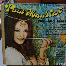 Discos de vinilo: LE GRAND ORCHESTRE DE PAUL MAURIAT - RAIN AND TEARS - LP. DEL SELLO PHILIPS DE 1968. Lote 133668018