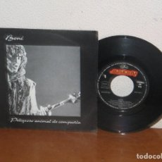 Disques de vinyle: BONI (BARRICADA) 7´´ MEGA RARE VINTAGE PROMO SPAIN 1992. Lote 133668230