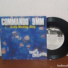 Discos de vinilo: COMMANDO 9MM 7´´ MEGA RARE VINTAGE SPAIN 1987. Lote 133668518