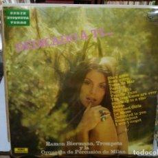 Discos de vinilo: RAMON BIERMANN, TROMPETA Y LA ORQUESTA DE PERCUSIÓN DE MILÁN - DEDICADO A TI .. - LP. ZAFIRO 1972. Lote 133668694