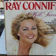 Discos de vinilo: RAY CONNIFF - I WILL SURVIVE - LP. DEL SELLO CBS DE 1979. Lote 133668762