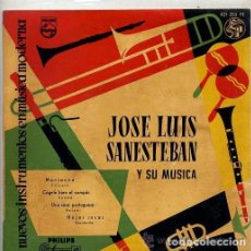 Discos de vinilo: JOSE LUIS SANESTEBAN - MARIANNE / COGELE BIEN EL COMPAS + 2 TEMAS - EP PHILIPS 1958. Lote 133669030