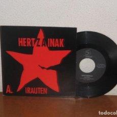 Discos de vinilo: HERTZAINAK 7´´ MEGA RARE VINTAGE SPAIN 1992. Lote 133669658