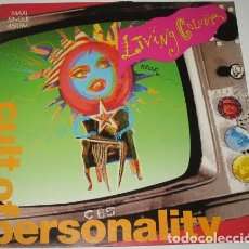 Discos de vinilo: LIVING COLOUR – CULT OF PERSONALITY (EU, 1988). Lote 133670070