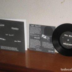 Discos de vinilo: SPLIT GENOVA 2001 7´´ MEGA RARE EXTENDED PLAY GERMANY 2002. Lote 133670610