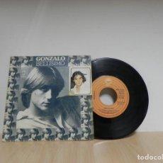 Discos de vinilo: SINGLE VINILO - GONZALO - 1977 - BELLISIMO, LASTIMA - EPIC . Lote 133671138