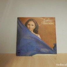 Discos de vinilo: LOLITA ABRAZAME / NO RENUNCIARE SINGLE 1976 . Lote 133676858