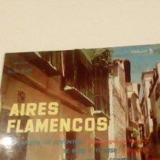 Discos de vinilo: BAL-6 DISCO 7 PULGADAS LOLA TORREJÓN CON MANOLO CARMONA EP AIRES FLAMENCOS.1961 . Lote 133677954