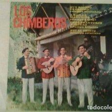 Discos de vinilo: LOS CHIMBEROS ?– QUE BONITO ES CASTRO / A BAILAR MARUXIÑA / DESDE SANTURCE A BILBAO / FUI AL CRISTU. Lote 133679658