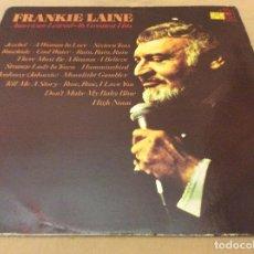 Discos de vinilo: FRANKIE LAINE ?– AMERICAN LEGEND -16 GREATEST HITS. CBS 1977.. Lote 133680610