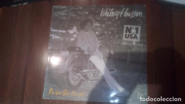 WHITNEY HOUSTON- I'M YOUR BABY TONIGHT.MAXI ESPAÑA (Música - Discos de Vinilo - Maxi Singles - Pop - Rock - New Wave Internacional de los 80)