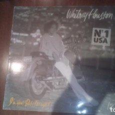 Discos de vinilo: WHITNEY HOUSTON- I'M YOUR BABY TONIGHT.MAXI ESPAÑA. Lote 133681954