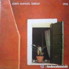 Discos de vinilo: JOAN MANUEL SERRAT - LP ARIOLA 1978. Lote 133682978