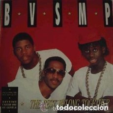 Discos de vinilo: B.V.S.M.P. THE BEST BELONG TOGETHER - LP BOY RECORDS 1988 (HIP HOP). Lote 133683878