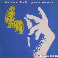 Discos de vinilo: SNAP! – WORLD POWER - LP SPAIN 1990. Lote 135878773