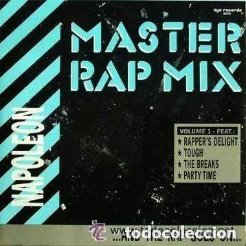 NAPOLEON, MASTERS RAP MIX / FEEL THE BODY HEAT, 12' MAX MUSIC SPAIN 1988, HIP HOP (Música - Discos de Vinilo - Maxi Singles - Rap / Hip Hop)