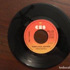 Discos de vinilo: ANA Y JOHNNY ?– YO TAMBIÉN NECESITO AMAR SELLO: CBS ?– CBS 4266 FORMATO: VINYL, 7 45 RPM, SINGLE . Lote 133688626
