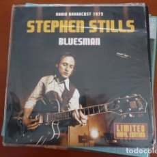 Discos de vinilo: STEPHEN STILLS?–BLUESMAN - RADIO BROADCAST 1972 VINILO COLOR AZUL. Lote 133691310