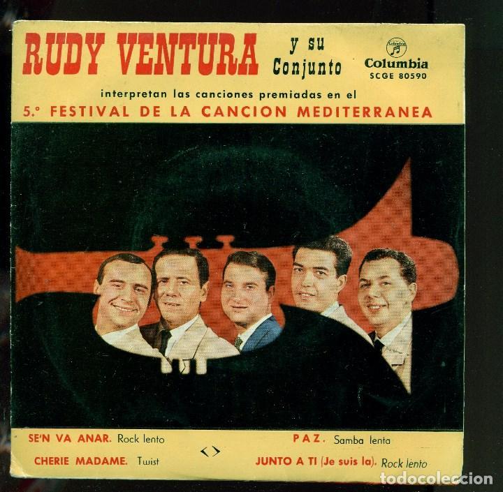 RUDY VENTURA Y SU CONJUNTO. SE'N VA ANAR ETC. COLUMBIA 1963. EP. PERFECTE ESTAT (Música - Discos de Vinilo - EPs - Grupos Españoles 50 y 60)