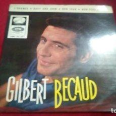 Discos de vinilo: GILBERT BECAUD. Lote 133696918