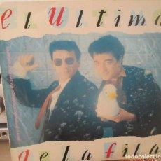 Discos de vinilo: EL ULTIMO DE LA FILA - NUEVO PEQUEÑO CATALOGO DE SERES Y ESTARES - LP PERRO 1990. Lote 133697058